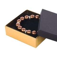 Pudełko CARLA uniwersalne duże czarno-złote