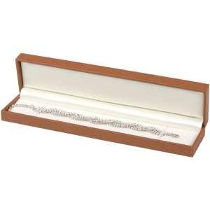 Pudełko EVITA bransoletka brązowe