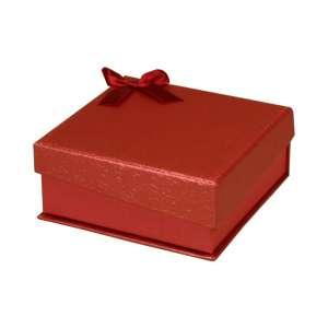 Pudełko STELLA uniw.duże czerwone