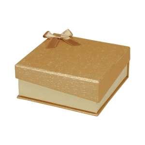 Pudełko STELLA uniw.duże złote