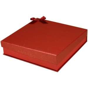 Pudełko STELLA kolia czerwone