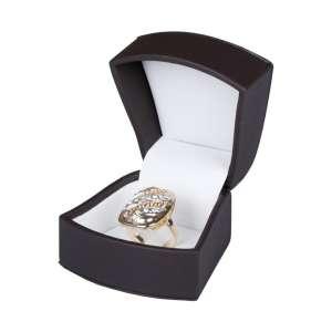 Pudełko ARTE pierścionek brązowe
