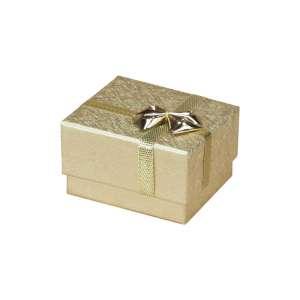 Pudełko RITA pierścionek złote