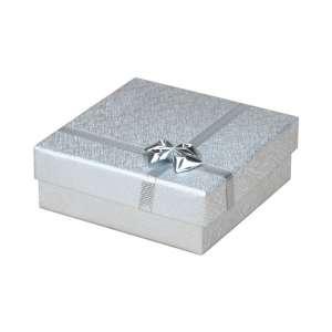 Pudełko RITA uniw.duże srebrne