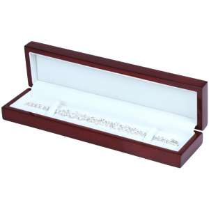 Pudełko PRIMO bordowe bransoletka
