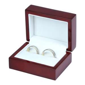 Pudełko PRIMO bordowe obrączki