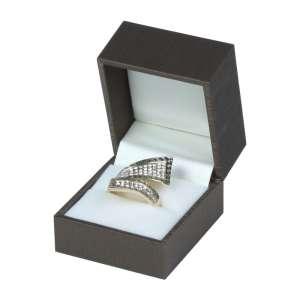 Pudełko LARA pierścionek brązowe