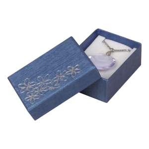 Pudełko TINA kwiatki uniw.małe Niebieskie