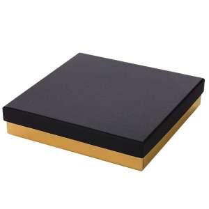 Pudełko CARLA kolia czarno-złote