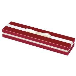 Pudełko DIANA bransoletka bordowe