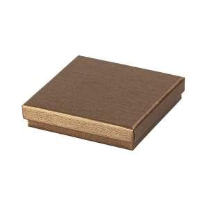 Pudełko TINA uniw.duże płaskie brązowe