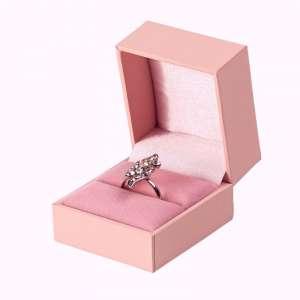 Caja para anillo IDA rosado