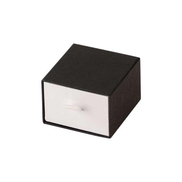 Pudełko KAREN pierścionek grafitowe