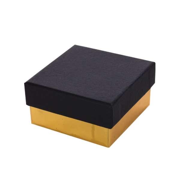 Pudełko CARLA uniwersalne małe czarno-złote